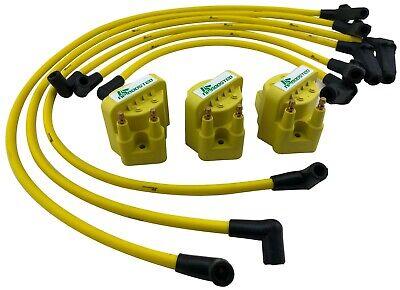 1996-2008 3.8L V6 3800 Hi Voltage Coil Packs 10mm Performance Spark Plug Wires