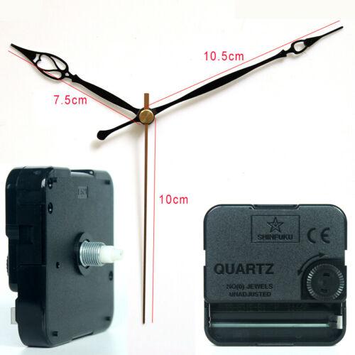 Quartz Wall Clock Movement Mechanism with 20# Hands Silent Plastic DIY Kits Home