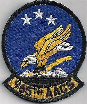 USAF 965RD AACS PATCH              HOOK /& LOOP                            COLOR