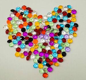 100-1000-Diamant-cristal-decoration-table-4-5-mm-couleur-mixte-fete-mariage