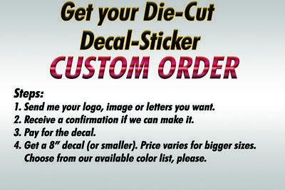 Sticker Laptop Custom Decor Invoice Car Vinyl Wall Decal Window