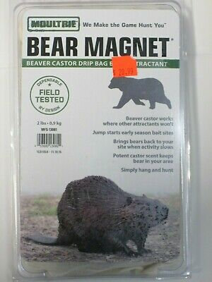 Moultrie Bear Magnet Anise Drip Bag attractant