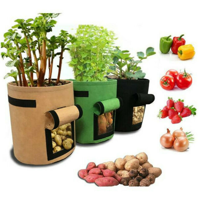 Planting Pots Planter Pouch Gardening