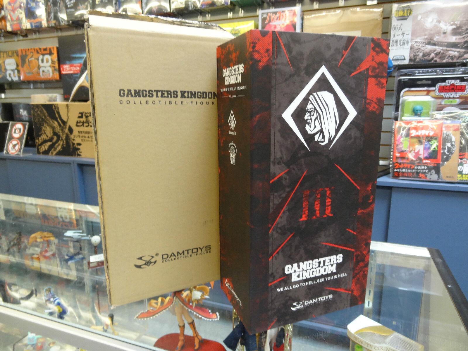 Dam Toys Gangster Kingdom Machete 1/6 Figure 12  GK006 Nuovo