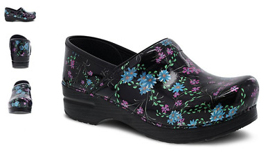Dansko Professional Clog Wildflower Patent Women/'s sizes 36-42//6-12 NEW!!!