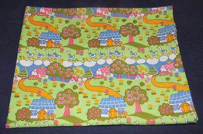 Bettwäsche 70er Vintage 100x135 Ddr Graziela-like 70s Farm Yard Fabric Bedding