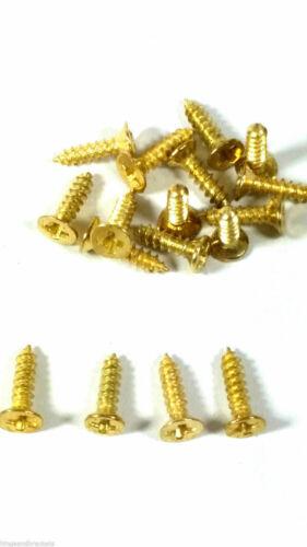 Small Screws Brassed Countersunk 8mm Jewellery Box Hinge Dolls House Doors Lids