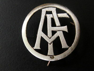 Monogrammes Argent Massif Fa Af Initiale Chiffre Solid Silver Monograms Art Deco