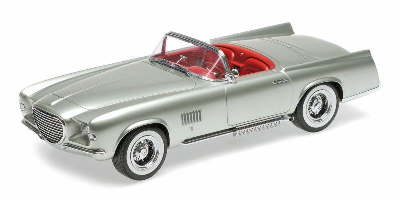 Chrysler Ghia Falcon 1955 Light verde Metallic 1:18 Model MINICHAMPS