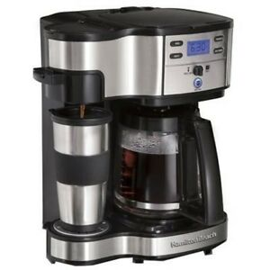 Hamilton Beach 2-Way Coffee Maker with 12-Cup Carafe & Pod Brewing (49980Z)