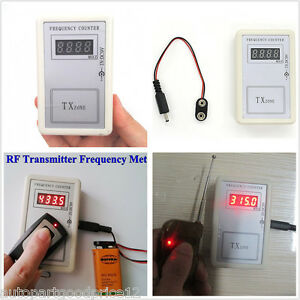 Details about Frequency Detector Tester Counter For Car Key Remote Control  Fix RF 250-450MHZ