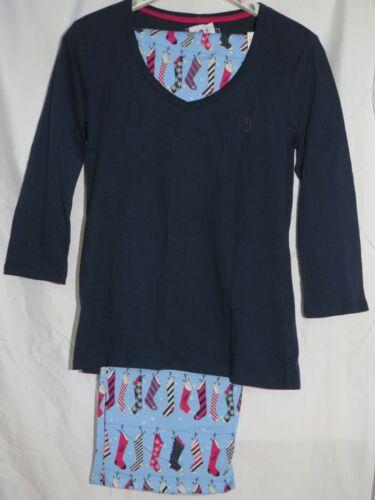 Details about  /NWT Charter Club Nautica Tommy Hilfiger Cotton Flannel Knit 2 Pcs Pajamas S M XL