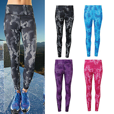 tr032 Yoga Workout Sportswear Bright Tridri Women's Performance Hexoflage Leggings