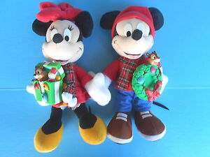 image is loading disney mattel mickey amp minnie mouse holiday friend - Disney Christmas Music