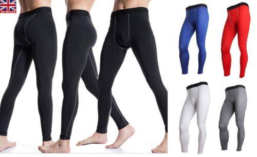 Compression Men Base Layer Thermal Sport Skins Under Gear Long Pants Legging Gym