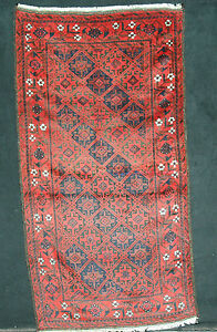 """Diligent Antiker Balouch 195 X 110 1940 Ca Antique Balouch 6' 4"""" X 3' 6"""""""