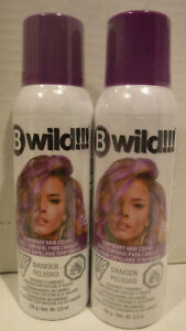 Jerome Russell B Wild Temporary Spray Hair Color Panther Purple Lot Of 2 14608528545 Ebay