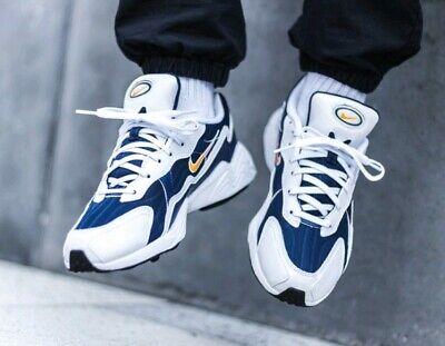 Dettagli su Nike AIR MAX 98 QS MISURA 9 Regno Unito Thunder Blue Genuine Autentiche Sneaker Uomo mostra il titolo originale