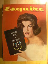 Esquire Magazine June 1961 Celebrity Nancy Kovack, Pipe Smoking