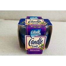 1998 Vintage Glade Votive Candle Scents Pack of 4 COUNTRY GARDEN 6Oz Package NIB