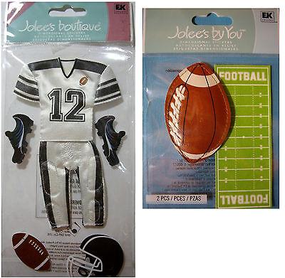 Jolee/'s Boutique Stickers Football Helmet Repeats  #391