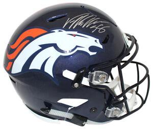 Von-Miller-Autographed-Denver-Broncos-Authentic-Speed-Flex-Helmet-JSA-24301