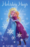 Disney Frozen Characters Box Of 12 American Greetings Christmas Cards