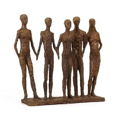 """Hanne Varming, f. 1939, bronzefigur """"Familie""""...."""