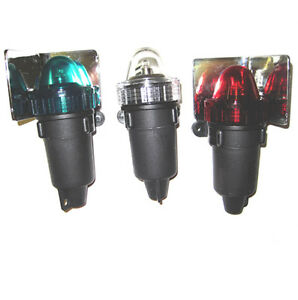 Emergency Set Of Three Battery Operated Navigation Lights - <span itemprop=availableAtOrFrom>Worcestershire, United Kingdom</span> - All returns must be made within 14 Days of receiving the goods and the item/s and must be unused, undamaged and unopened and in their original boxing or packing. All returns must b - Worcestershire, United Kingdom