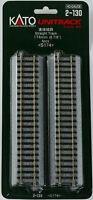 "Kato HO Gauge Unitrack #2-130 - 174mm 6 7 8"" Straight Track 4 pcs Toys"