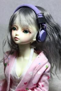 BJD Doll Dollfie Soundplay 1/4 1/6 Scale SD Headphones 7 Days Violet MSD Mini