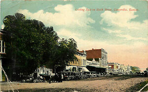 Looking East from Sixth Street, Concordia, Kansas, 00-10s