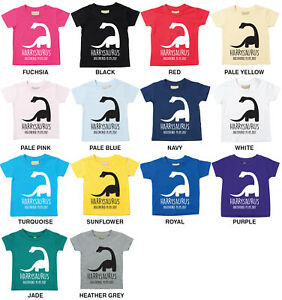 Image Is Loading DIPLODOCUS PERSONALISED BABIES TODDLERS DINOSAUR T SHIRT ANY