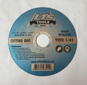 "41 Metal Cut Off Wheels Professional  25pc 4-1//2/"" X 1//16/"" X 7//8/"" Type 1"