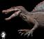 W-Dragon Spinosaurus Dinosaur Statue Figure Spino Animal Collector Dino Toy Gift