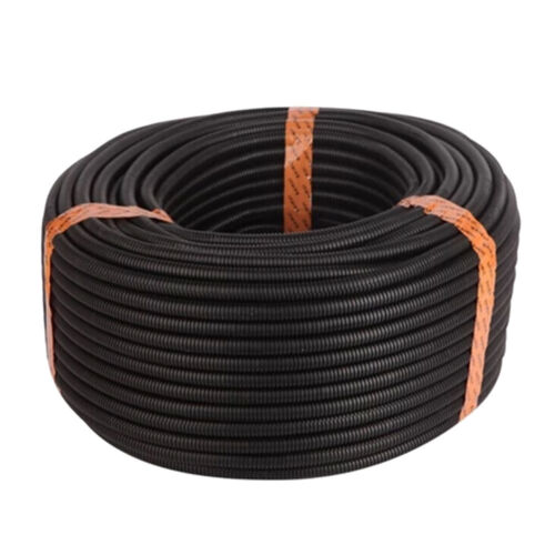 "20/' Feet 1/"" 25MM Black Split Loom Wire Flexible Tubing Wire Conduit Hose Cover"