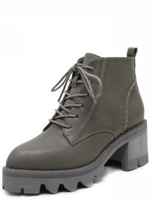 botas stivaletti stivaletti stivaletti bassi zapatos anfibi 6 cm gris eleganti simil pelle 9427  tienda de descuento