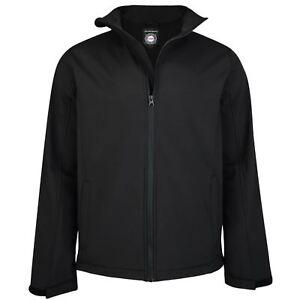 New-Mens-Kam-Big-Tall-Soft-Shell-Jacket-Coat-LightWeight-2XL-3XL-4XL-5XL-6XL