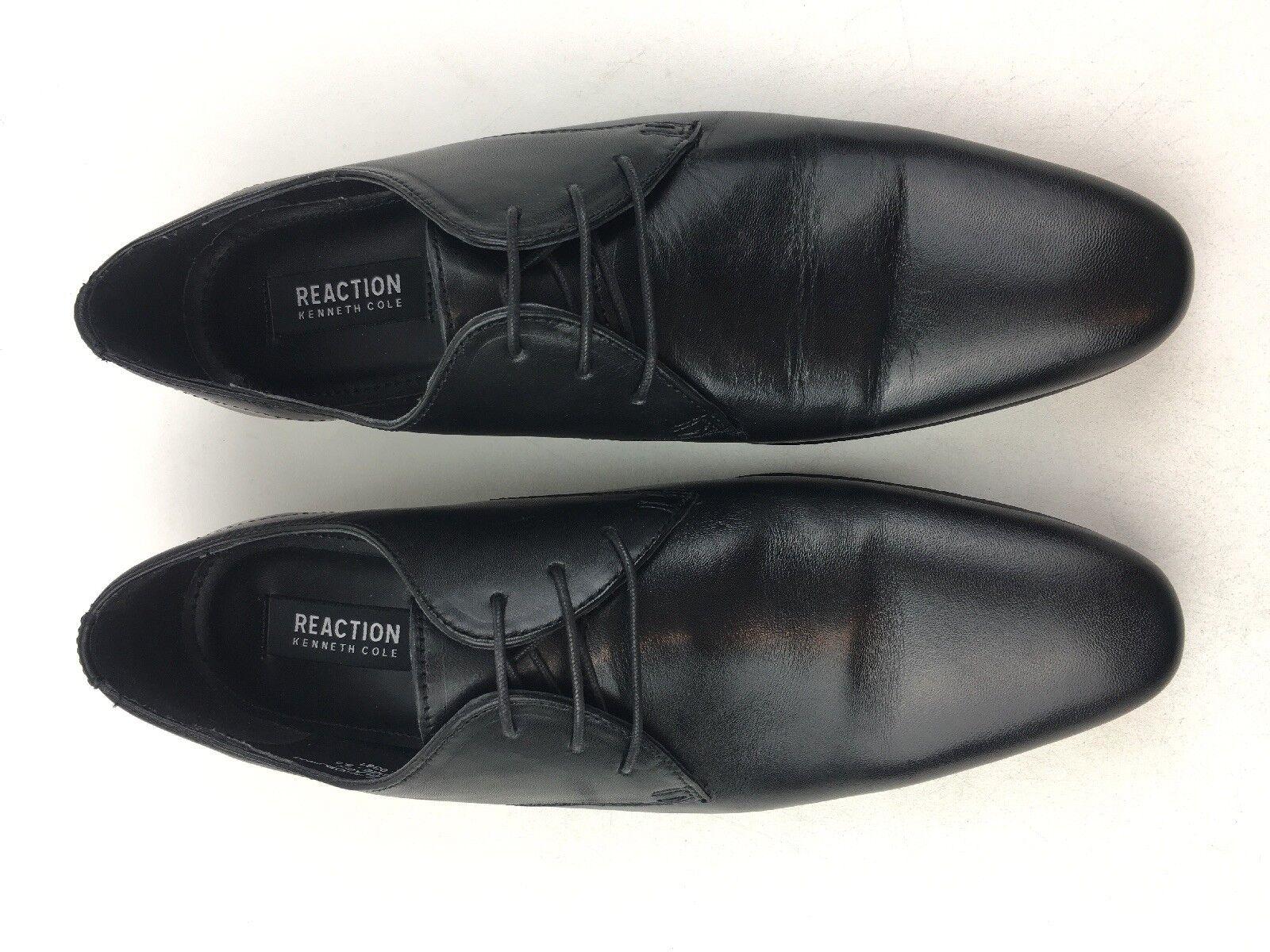 Kenneth Cole Reaction Shop-Ping List Lace Up Oxfords Men's Size 9.5, Black 1054