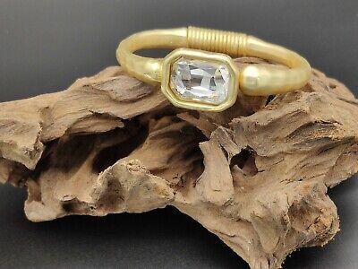 Pulsera Zamak alta calidad piedra cristal BLANCO bisuteria pulseras autentico
