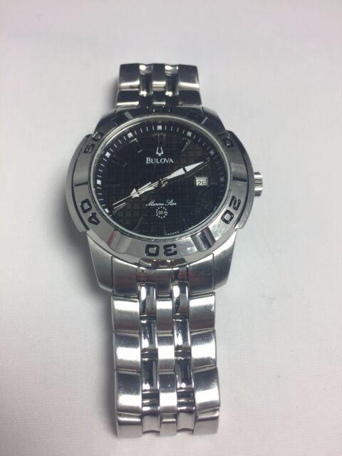 c4a259f05bd Bulova Men s 96G77 Marine Star Watch for sale online