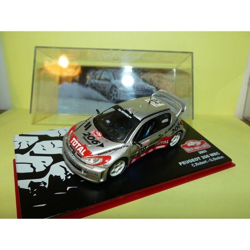 Peugeot 206 wrc rallye de monte carlo 2003  robert altaya 1 43 6   2003  mich 2afc4f