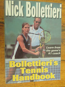 many fashionable hot product new york Details about Bollettieri's Tennis Handbook Nick Bollettieri - Andre Agassi  Boris Becker PB GC