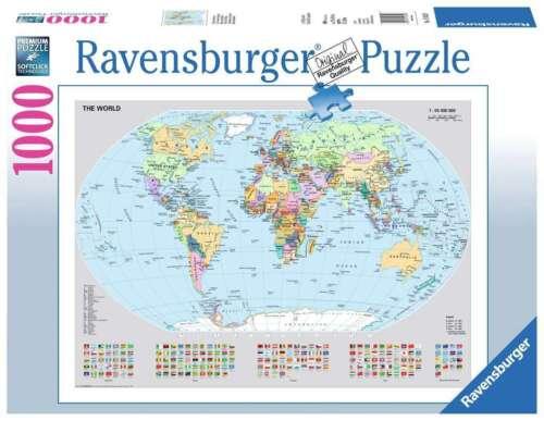 Ravensburger 15652 Politische Weltkarte 1000 Teile Puzzle