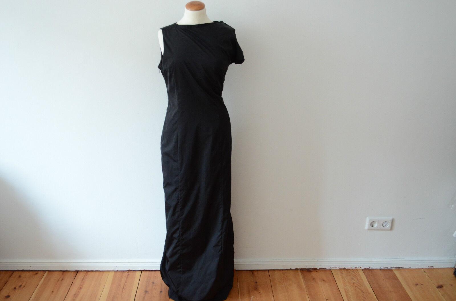 1546a8e6 KIEFER Designer Abendkleid NEU M bodenlang Maxi Kleid black SONJA 36 ...