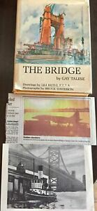 The-Bridge-Gay-Talese-1st-edition-1964-Newspaper-Clippings-from-1965