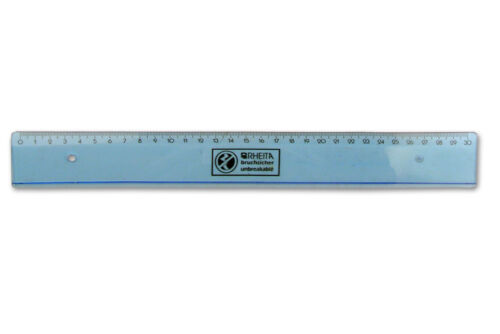 bruchsicheres Lineal 30cm biegsam flexibel