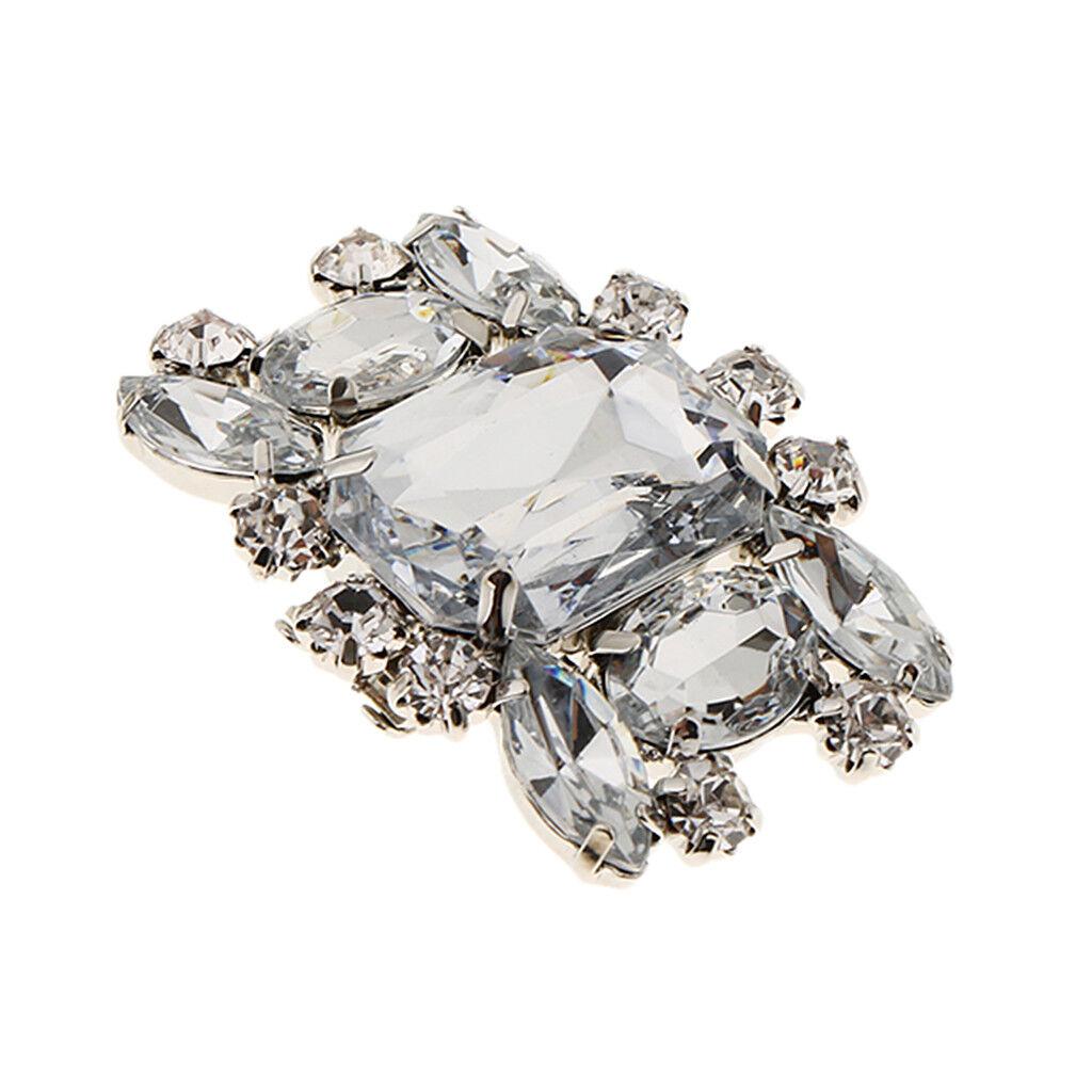 Womens Rhinestone Wedding Bridal Diamante Crystal Sparkle Shoe