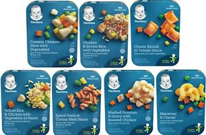 Gerber Lil Entrees Variety Pack Of 7 Meals Ebay