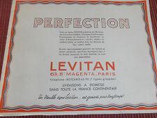CATALOGUE ANCIEN MEUBLE LEVITAN ANNÉE 1930 / 1940 ( ref 44 )